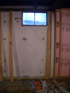 Cool home creations finishing the basement framing for Basement window replacement