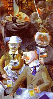 George Grosz: «Στυλοβάτες της κοινωνίας», 1926