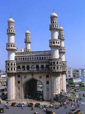 Beautiful Hyderabad City Charminar In Day And In Night
