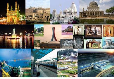 beautiful city of Hyderabad