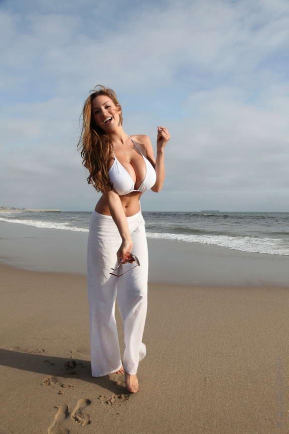 jordan craver in white bikini