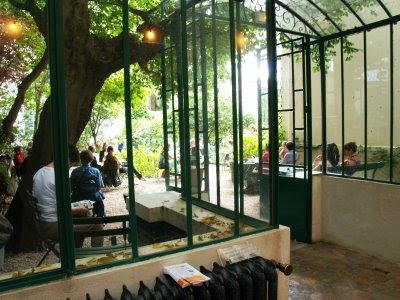 La parigote le mus e de la vie romantique - Musee de la vie romantique salon de the ...