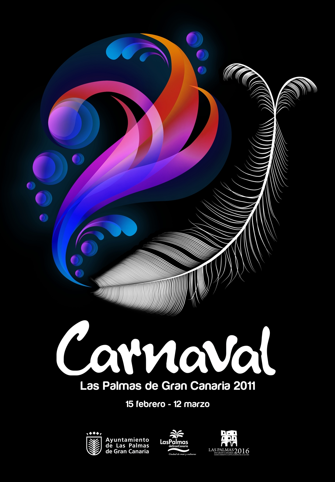 Uno de los 63 participantes del concurso del cartel de Carnaval de Las