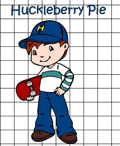 Huckleberry Pie Cartoon