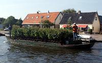 Nursery barge