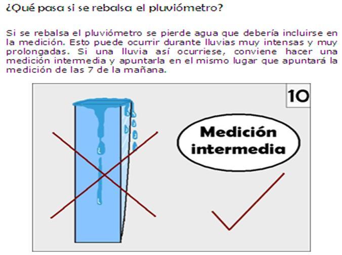 Producci n de cultivos en clima fr o sena febrero 2011 - Como fabricar un pluviometro ...