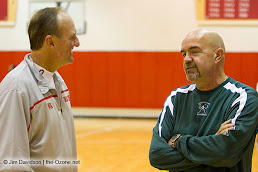 Matta: Explaining his offensive philosophy. Me: Skeptical.