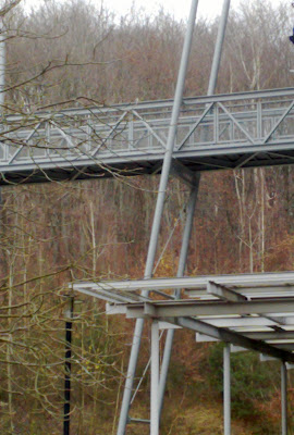 metal footbridge