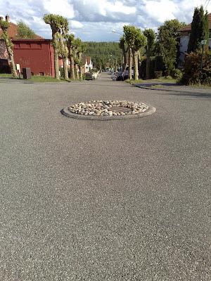 roundabout, street