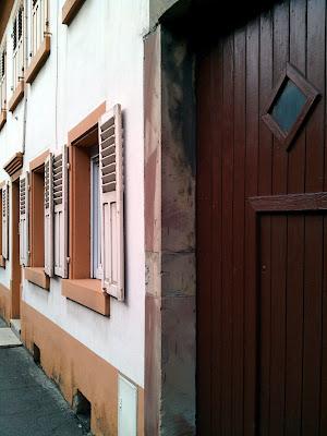 façade,  blinds
