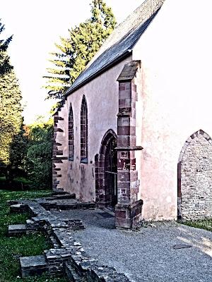church, ruins