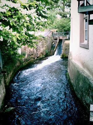mill, stream,