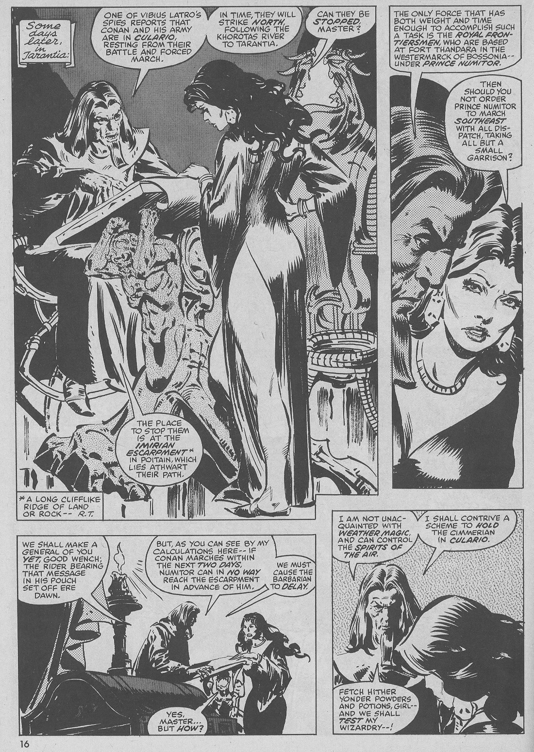 The Savage Sword Of Conan Issue #51 #52 - English 16