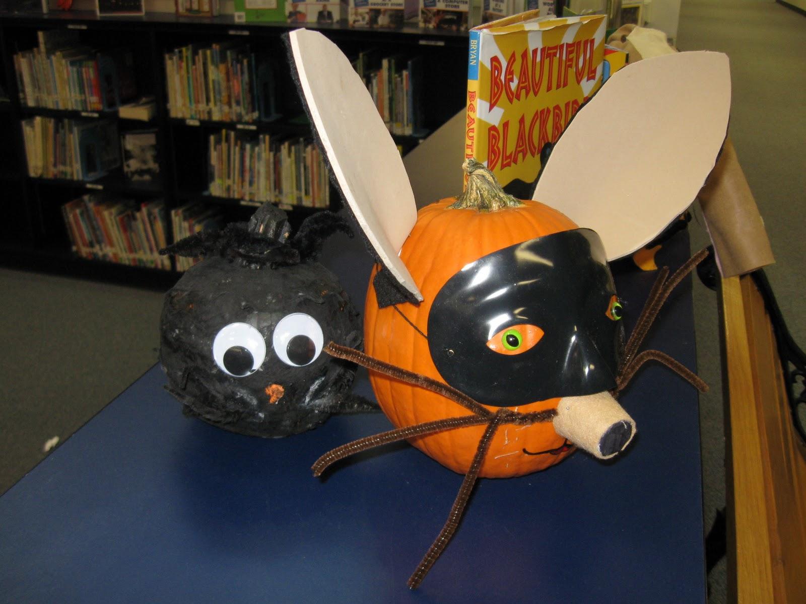 Book Character Pumpkin Decorating Ideas