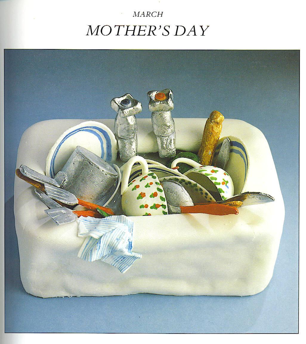 Happy Mothers Day Debbie Cake
