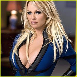 Pamela Anderson Superhero