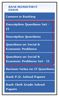 SBI PO exam Sample Paper