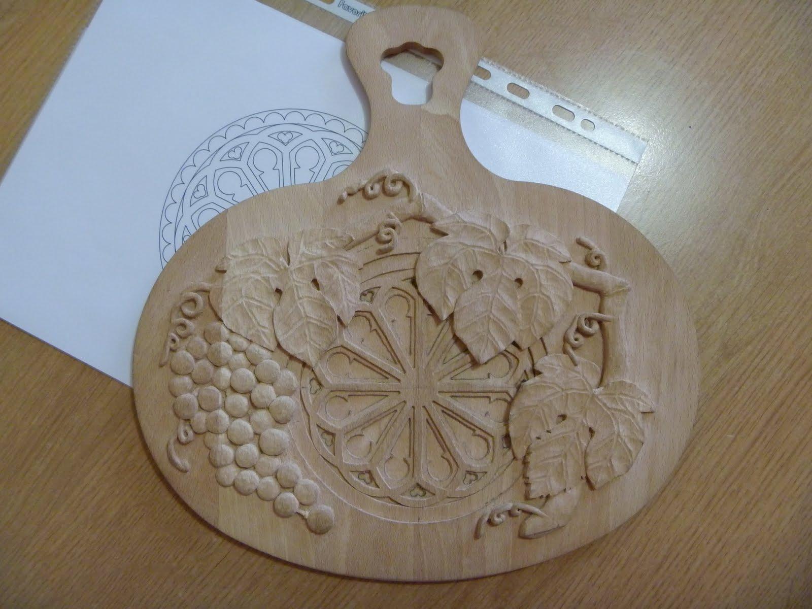 Preferenza Nel Legno - wood carving and more: Work In Progress: Rosone gotico CN04
