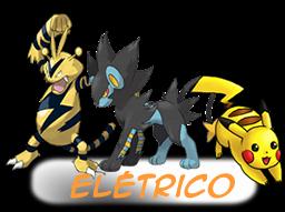 ---Tipos De Pokemons----- Eletricos