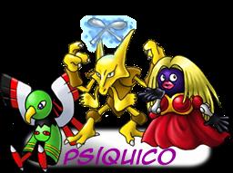 ---Tipos De Pokemons----- Psiquico