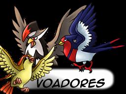 ---Tipos De Pokemons----- Voadores