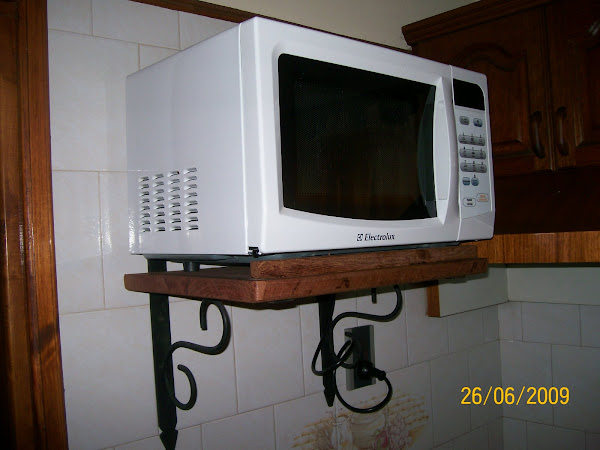 soporte para microondas