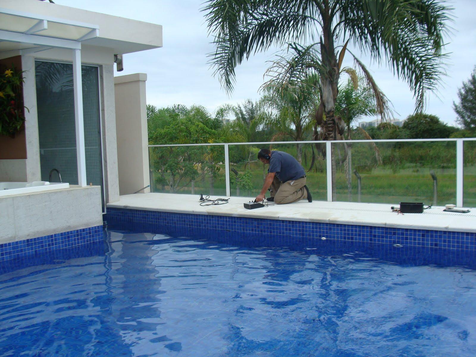 Detec o de vazamentos em piscina residencial companhia for Alberca residencial