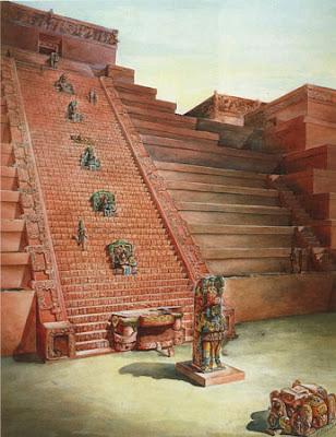 Intercambio cultural - Página 4 Copan+reconstrucci%C3%B3n+de+una+escalera+cubierta+de+jerogl%C3%ADficos