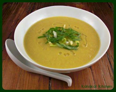 Creamy Cauliflower, Fennel, and Leek Soup with Almond Oil for Souper ...