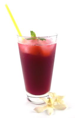 "... Thirst Quencher (Hibiscus-Ginger Drink): A ""Simple Saturday Sipper"