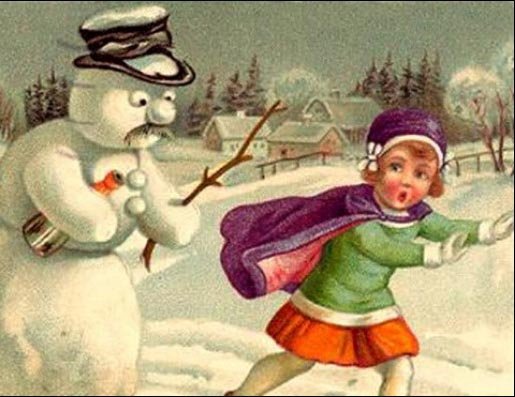 from my evil twin frosty the raunchy snowman