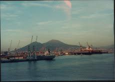il Vesuvio da Napoli