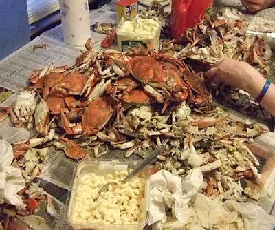 Delicious little crabbies!