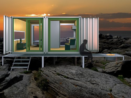 Container now container cabin for Hive container homes