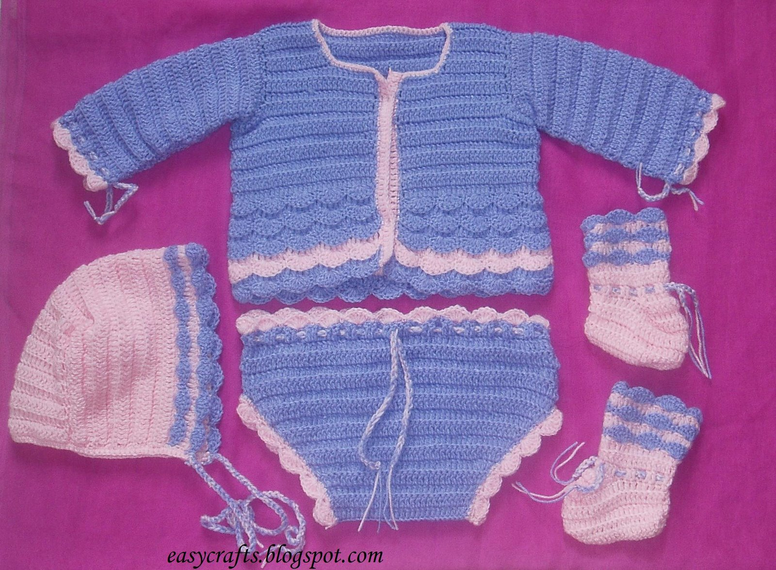 Easy Crafts - Explore your creativity: Baby winter set