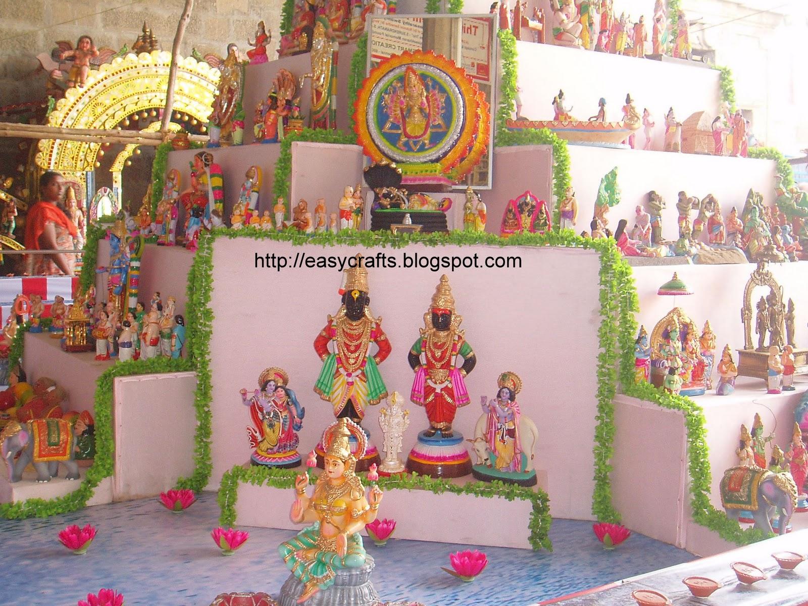Golu Decoration Tips Temples Of India Ashta Dikka Golu At Triplicane Sri Parthasarathy