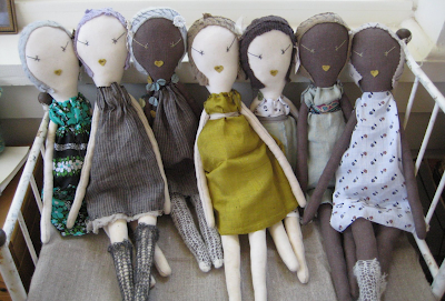 French Fashion Dolls on The Dolls Overall Style Are Modeled After Antique French Rag Dolls