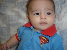 Meu super homem! - maio 2010.