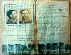 le carnet anthropométrique d'identité