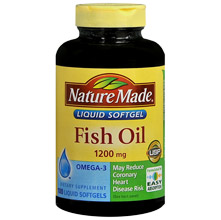 Living laughing saving saving nature made vitamins for What does fish oil do for you