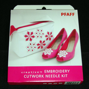 Pfaff Embroidery Cutwork Needle Kit - Moore's Sewing, Vacuum and Fan