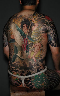 Yakuza Japanese Tattoos Design