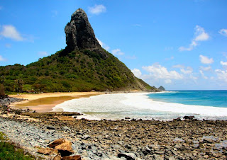 Morro do Pico, 321 metres tall, is the most prominent feature of the island