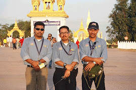 Malaysian Team at The India ASEAN Rally 2004