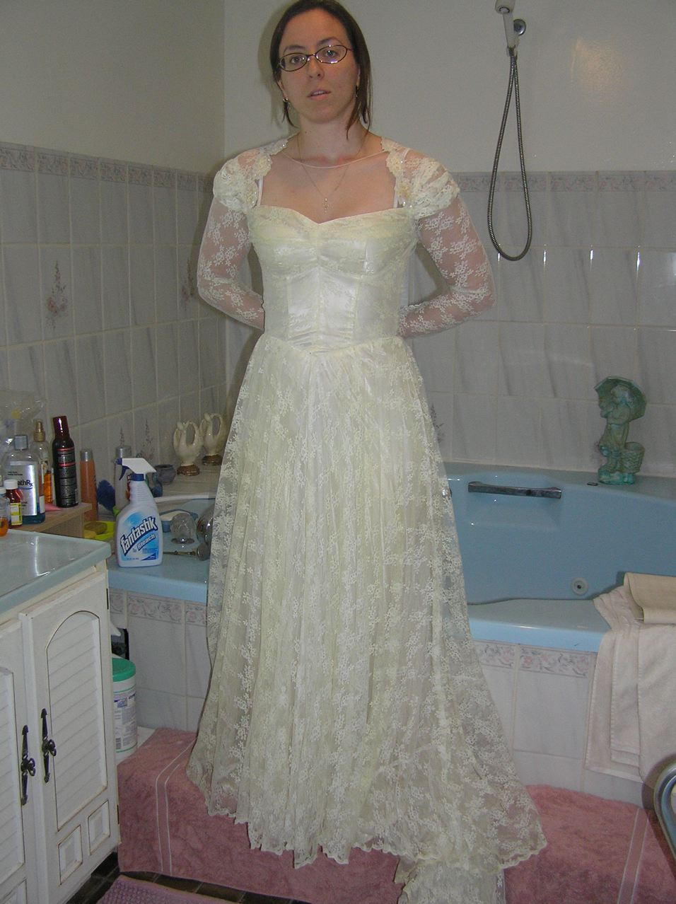 Grandmother Dresses for Grandsons Wedding http://whenhoyametsaxa.blogspot.com/2010/05/wedding-dress-wednesday-my-grandmothers.html
