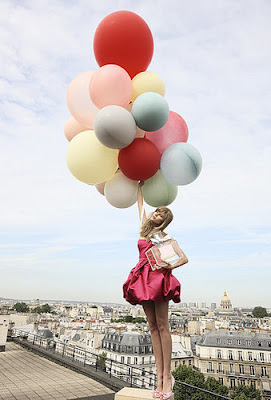Miss Dior_Girl with Balloons