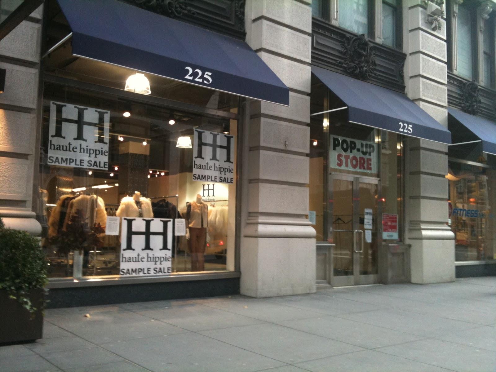 ZoeShopsNYC: 小毛儿报告: Haute Hippie Sample Sale (就算是65% Off ...