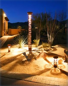 Decorative Exterior Lighting. photo