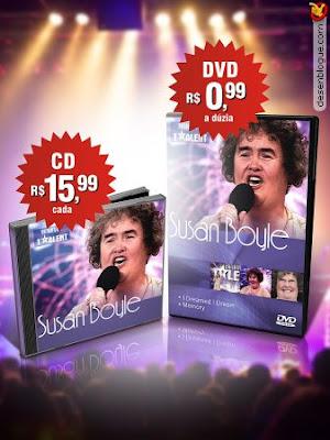 Aproveite: CD e DVD da Susan Boyle!