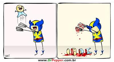 Wolverine não seria um bom pai...